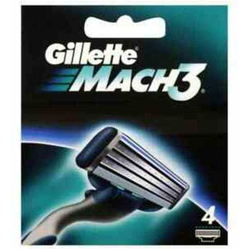 GILLETTE MACH3 CARTRIDGE BLADES – 4S