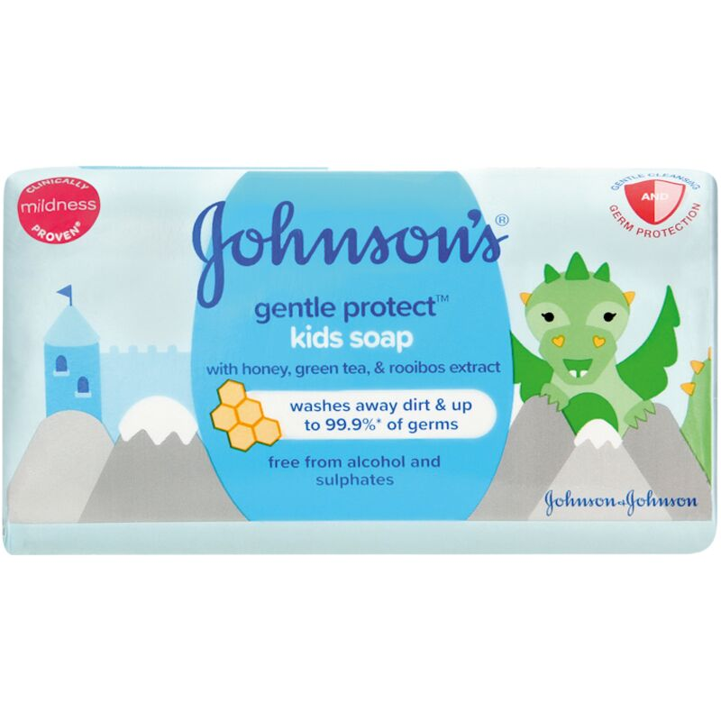 JOHNSONS BABY GENTLE PROTECT SOAP – 175G