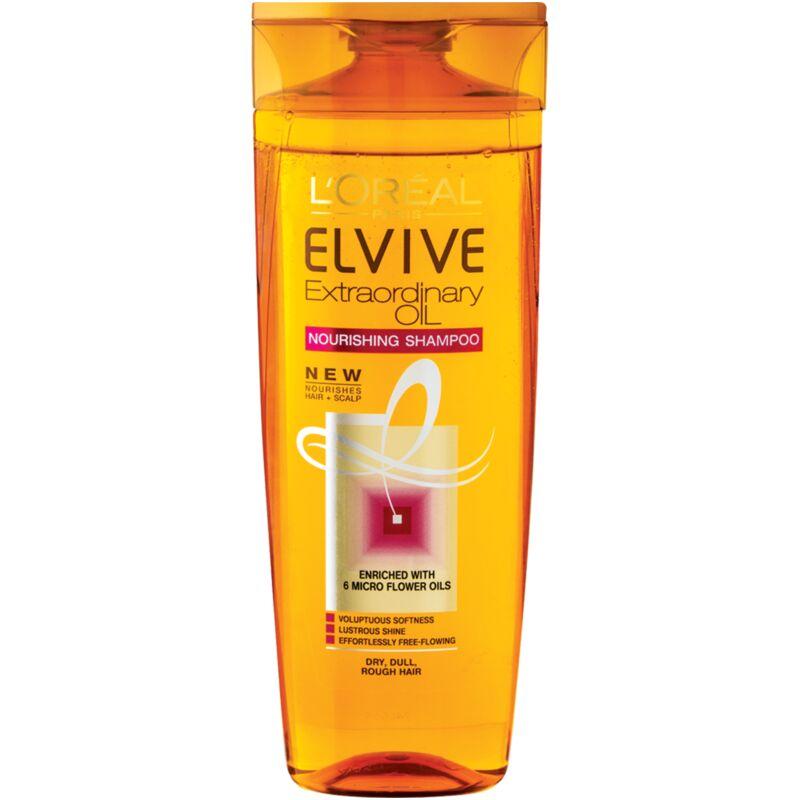 ELVIVE EXTRAORDINARY OIL SHAMPOO NORMAL TO DRY HAIR – 400ML