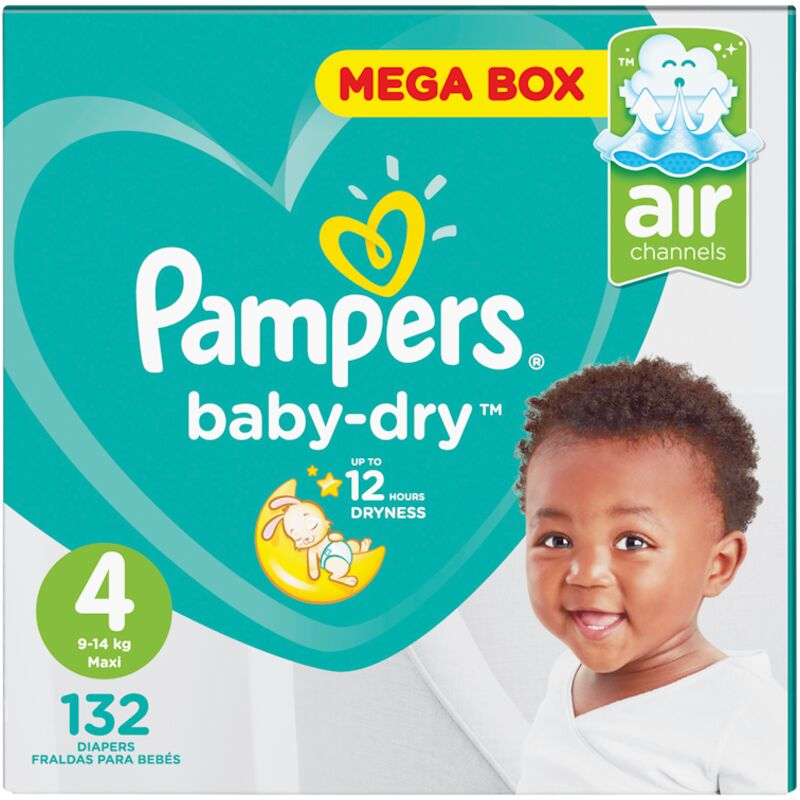 PAMPERS ACTIVE BABY MAXI MP – 132S