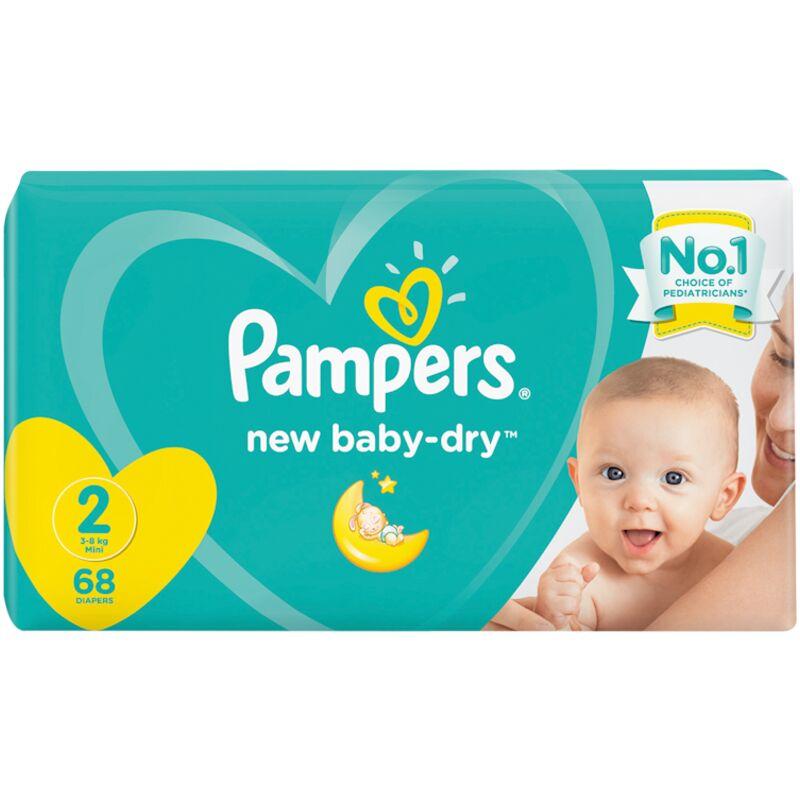 PAMPERS ACTIVE BABY MINI VP – 68S