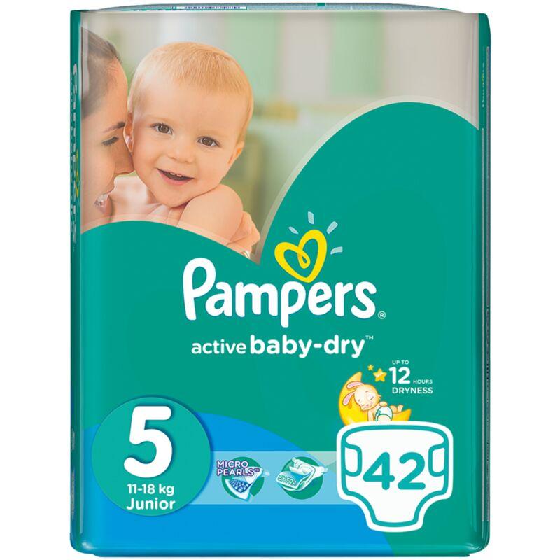 PAMPERS ACTIVE BABY JUNIOR VP – 42S