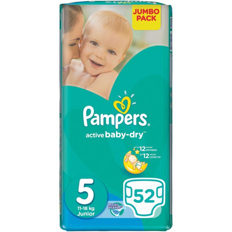 PAMPERS ACTIVE BABY JUNIOR JP – 52S