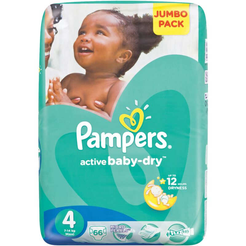 PAMPERS ACTIVE BABY MAXI JP – 66S