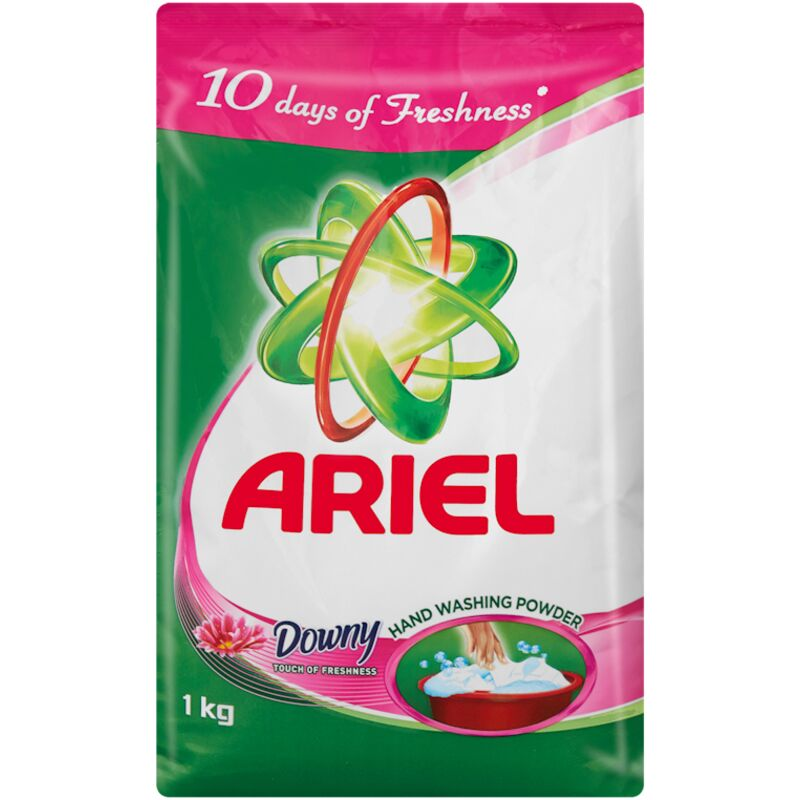 ARIEL LAUNDRY DETERGENT HAND TOUCH OF DOWNY – 1KG