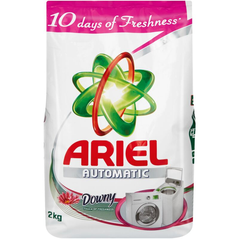 ARIEL LAUNDRY DETERGENT AUTO TOUCH OF DOWNY – 2KG