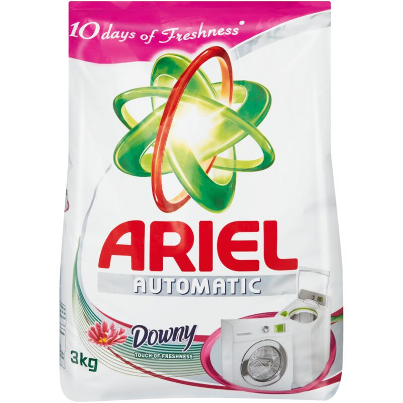 ARIEL LAUNDRY DETERGENT HAND TOUCH OF DOWNY – 3KG