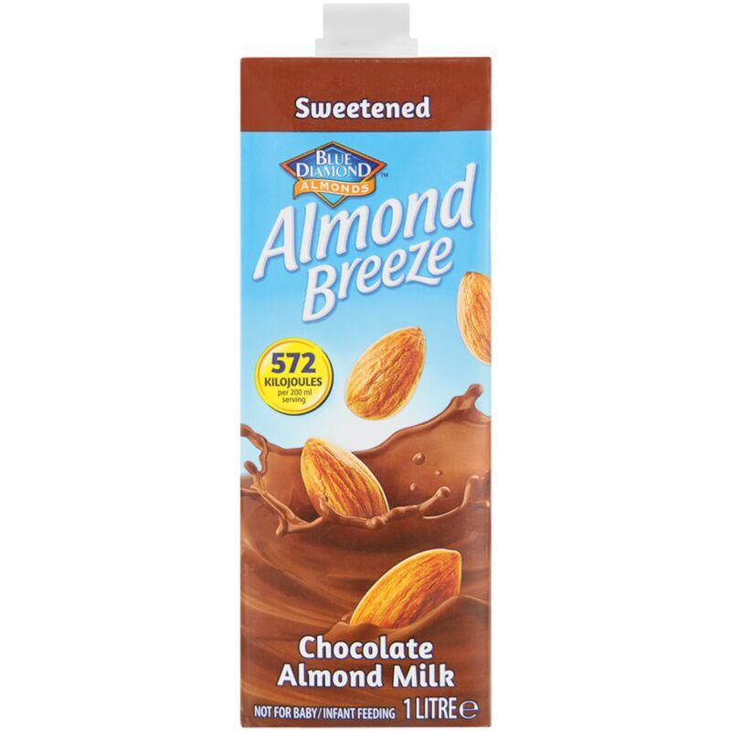 ALMOND BREEZE ALMOND MILK SWEETENED CHOCOLATE – 1L