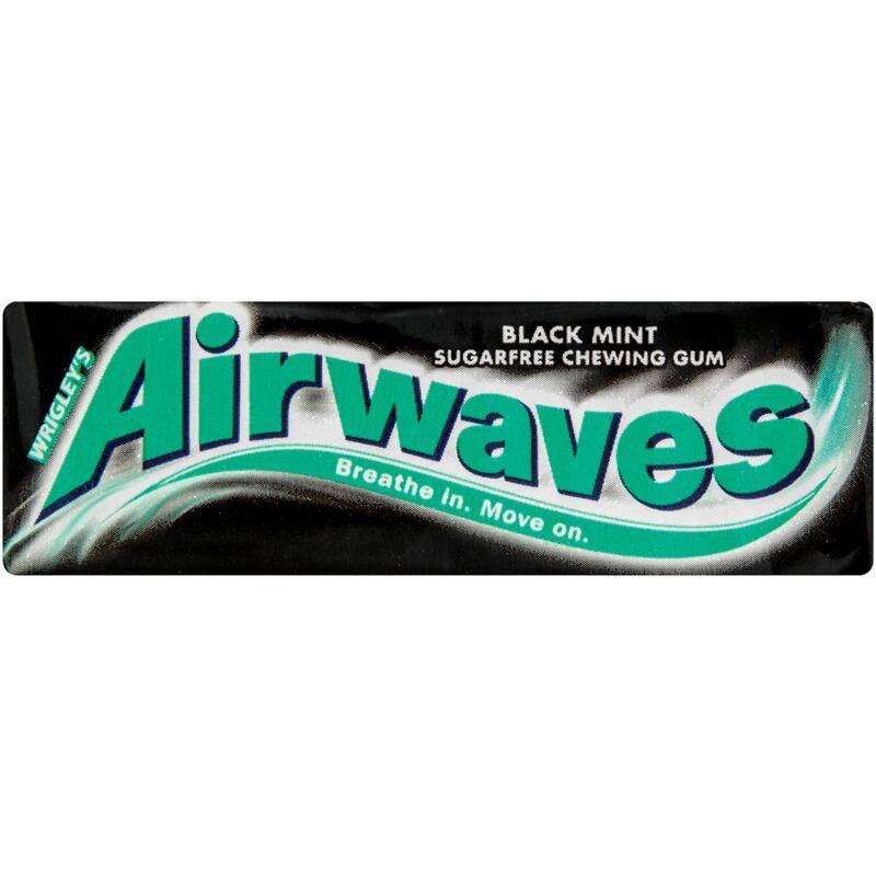AIRWAVES BLACK MENTHOL – 14G