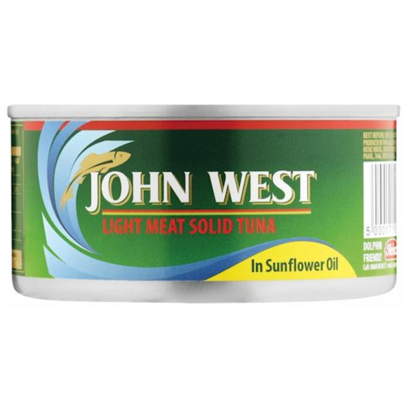 JOHN WEST TUNA SOLID IN OIL – 170G
