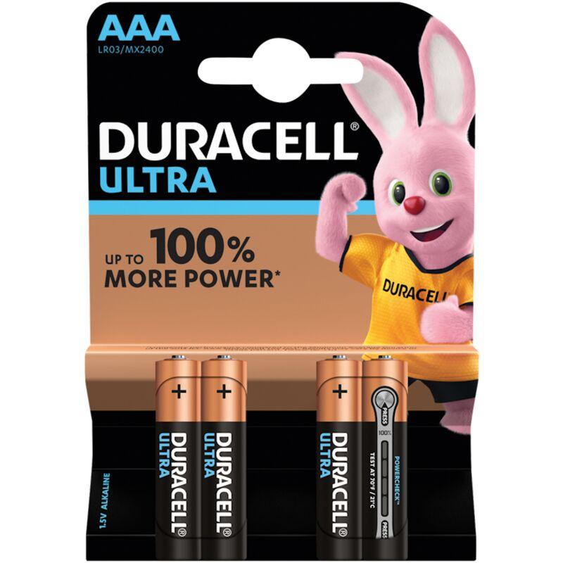 DURACELL ULTRA POWER AAA – 4S