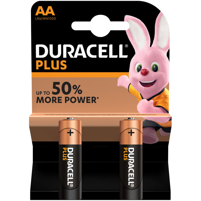 DURACELL BATTERY PLUS AA – 2S