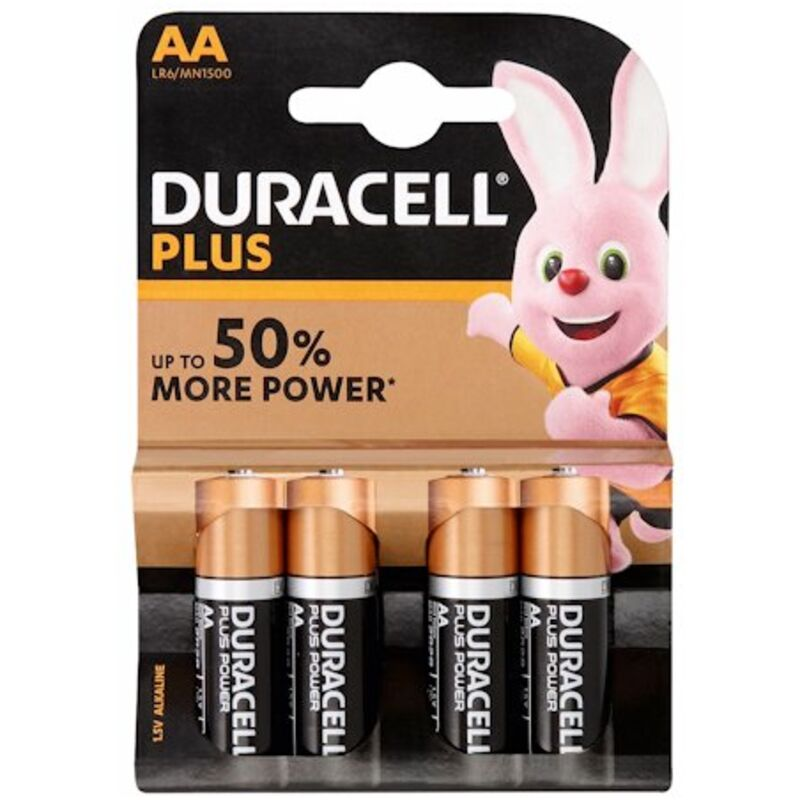 DURACELL BATTERY PLUS AA – 4S