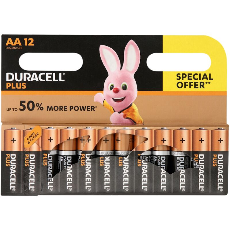 DURACELL PLUS POWER AAA ECONOMY – 12S