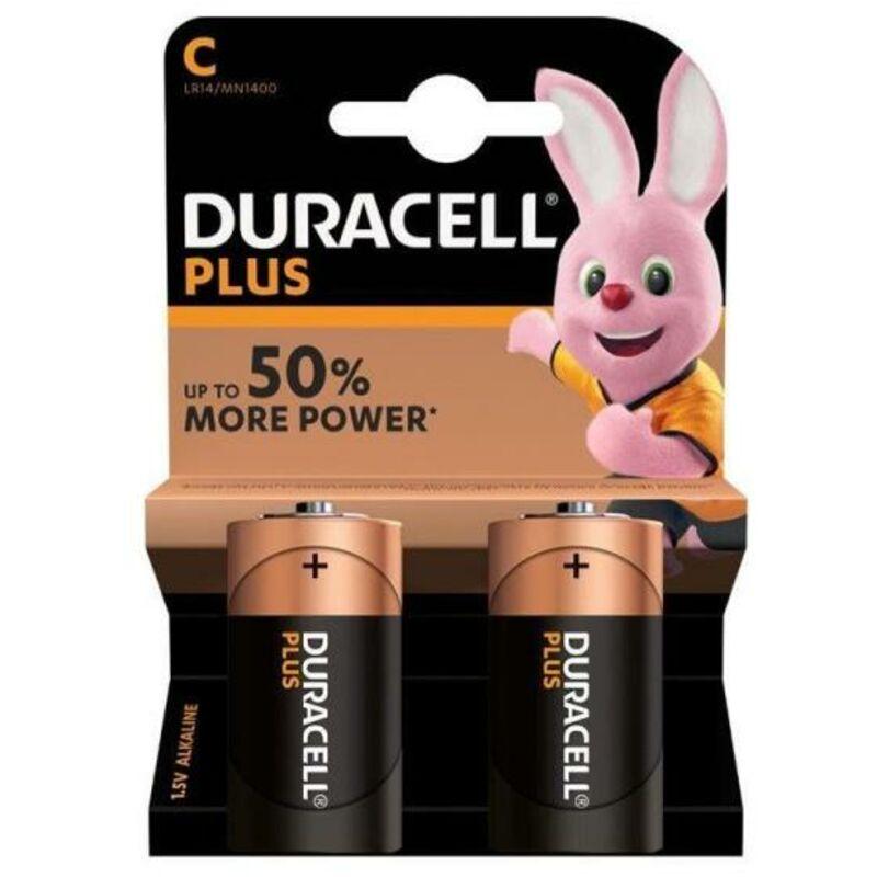 DURACELL PLUS POWER C – 2S