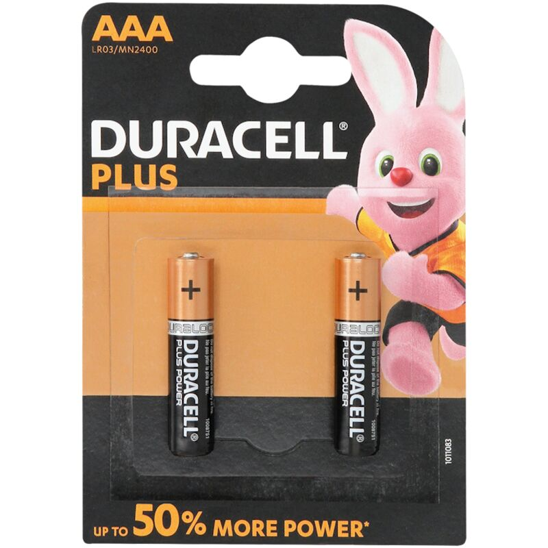 DURACELL PLUS POWER AAA – 2S