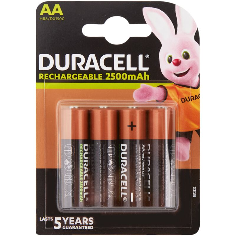 DURACELL RECHARGEABLE ULTRA AA – 4S