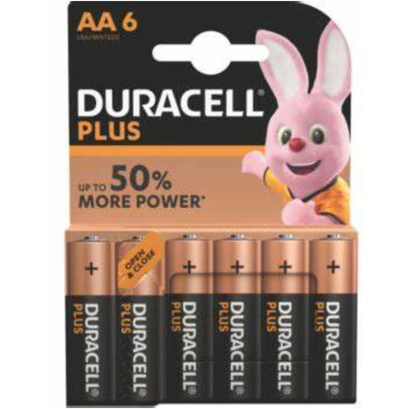 DURACELL PLUS POWER AA 6S – 6S
