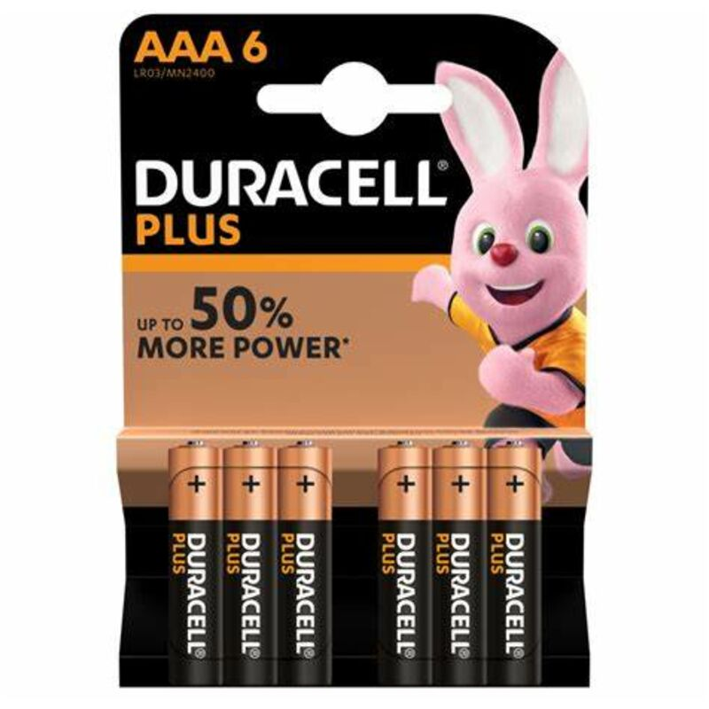 DURACELL PLUS POWER AAA – 6S