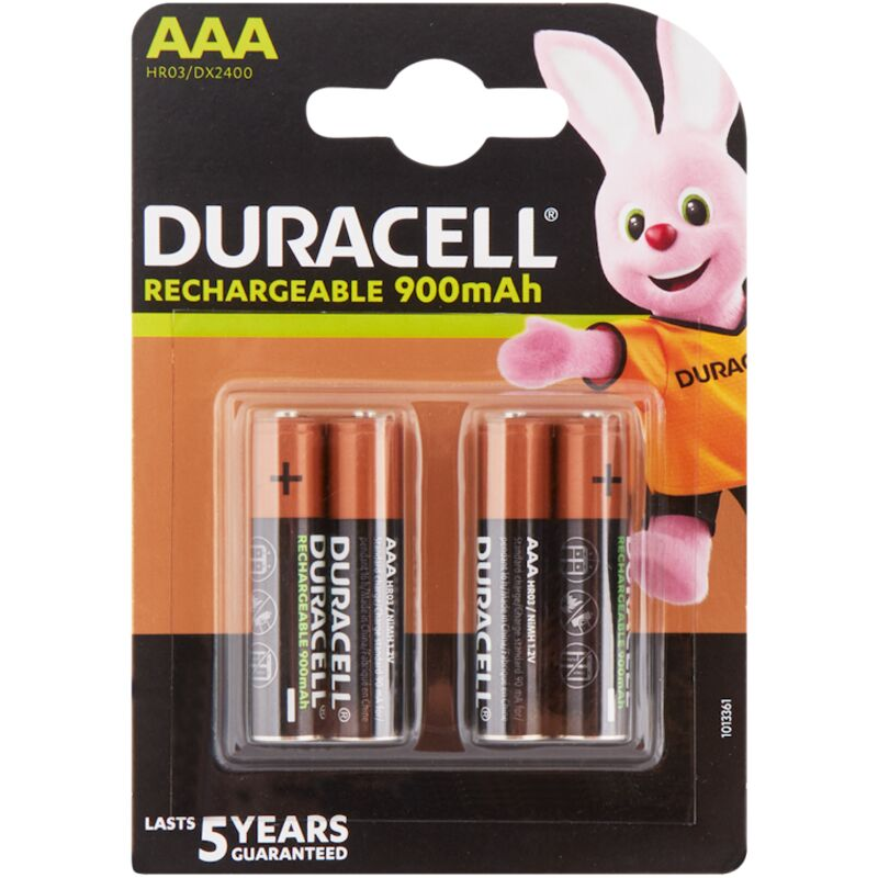 DURACELL RECHARGEABLE ULTRA AAA – 4S