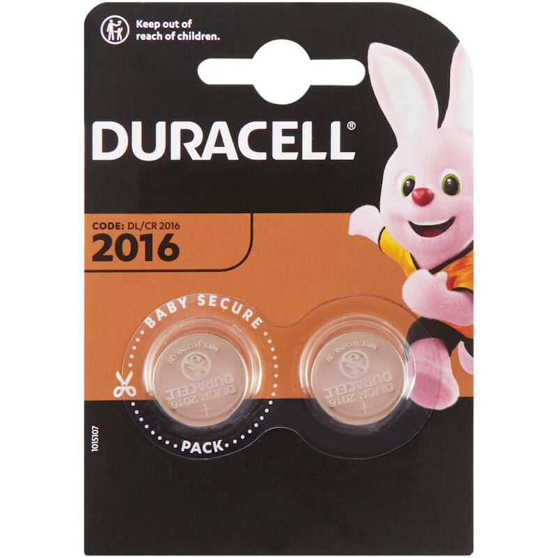 DURACELL 2016 COIN BATTERY – 2S