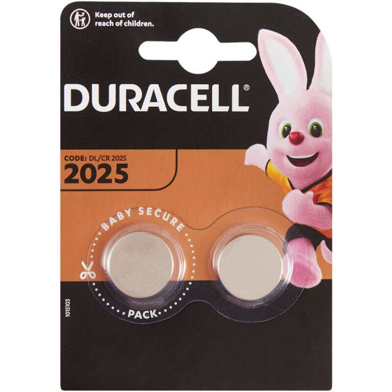 DURACELL 2025 COIN BATTERY – 2S