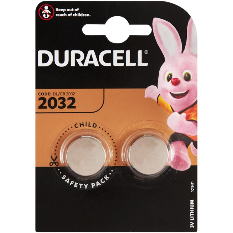 DURACELL 2032 COIN BATTERY – 2S