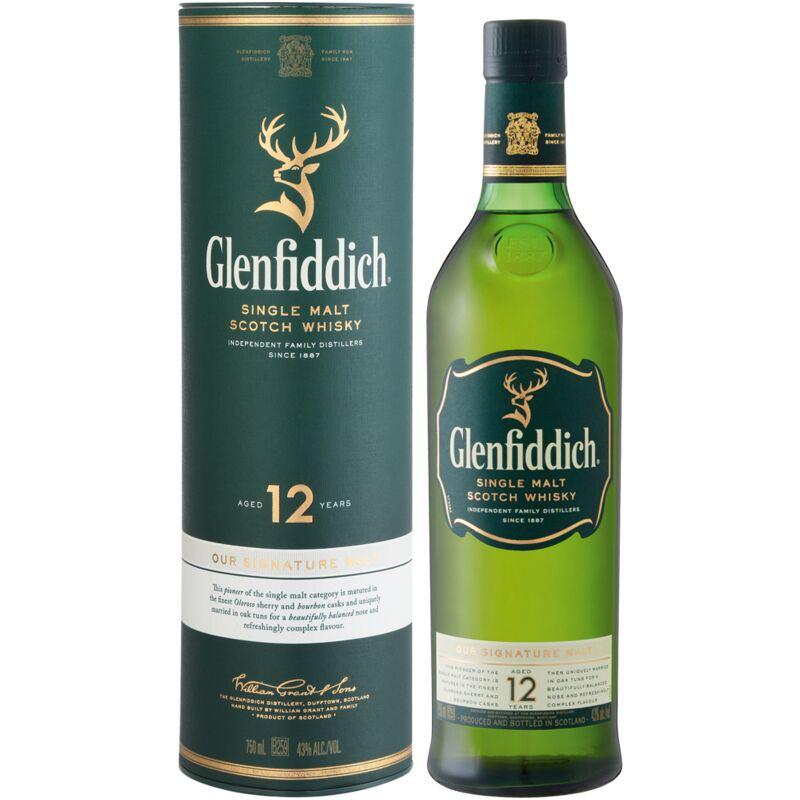 GLENFIDDICH 12YO – 750ML