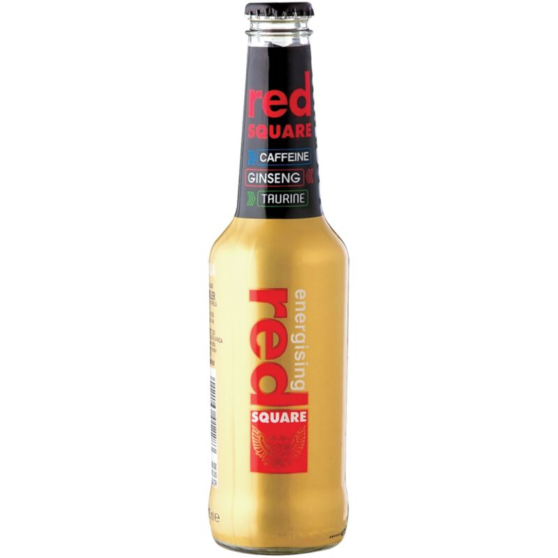 RED SQUARE ENERGISER TEQUILA – 275ML