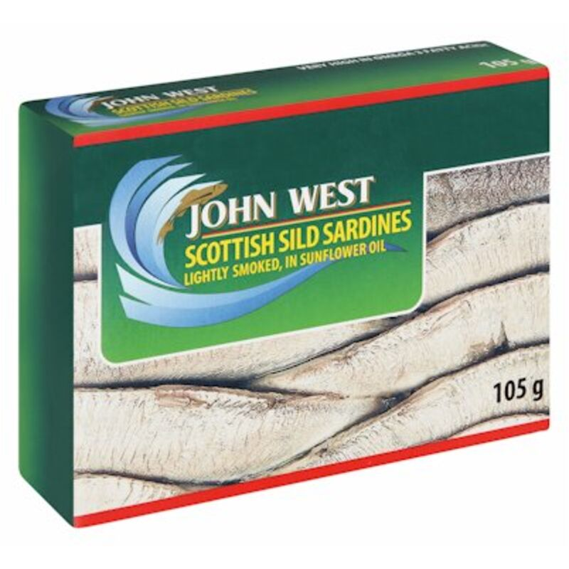 JOHN WEST SILD SARDINE OIL – 105G