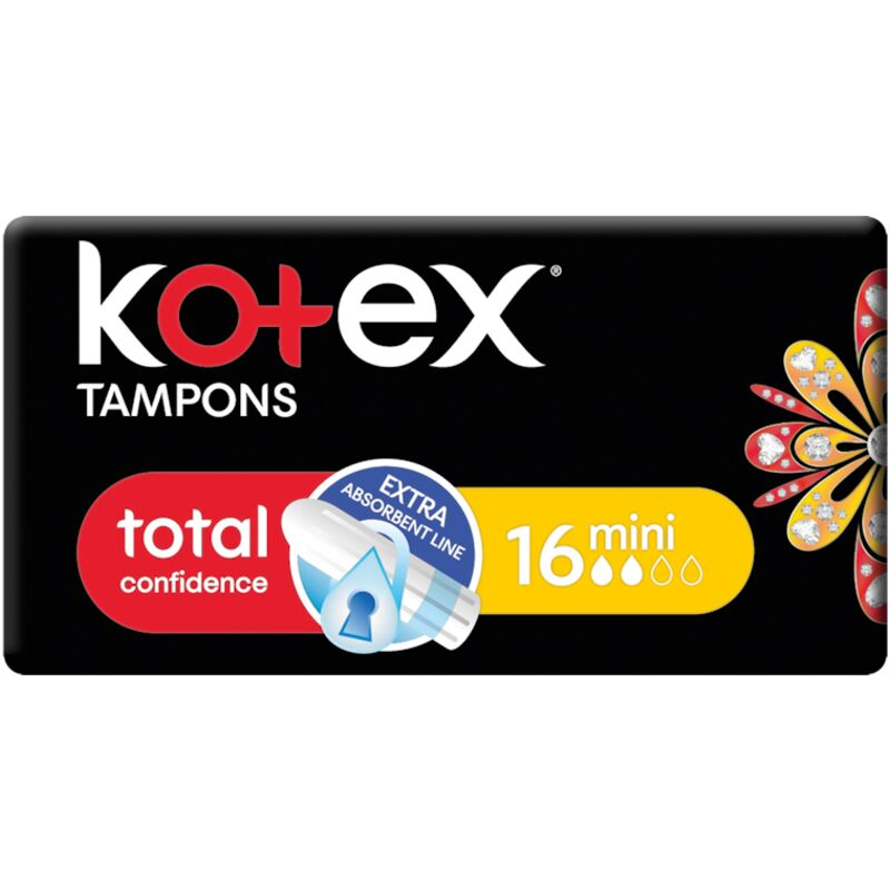 KOTEX MINI TAMPONS – 16S