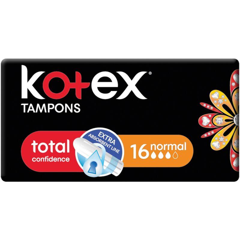 KOTEX REGULAR TAMPONS – 16S