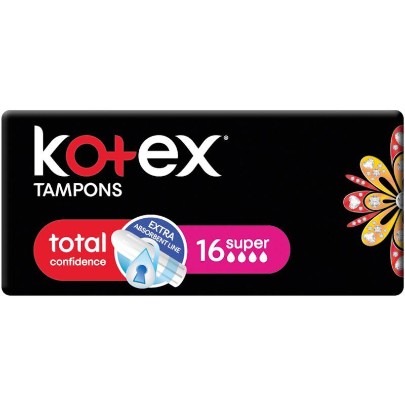 KOTEX SUPER TAMPONS – 16S