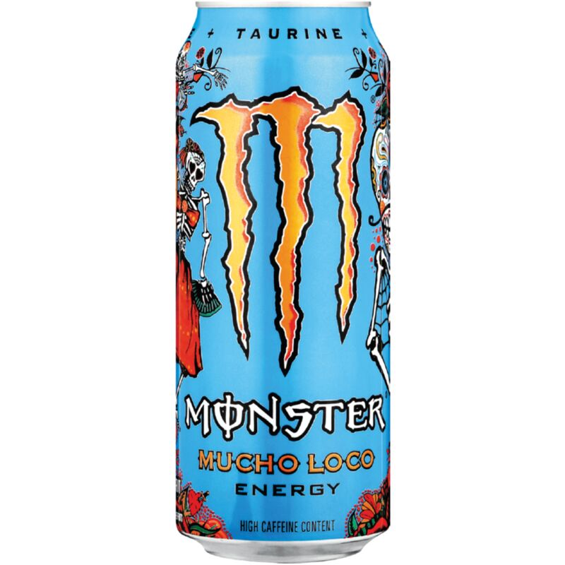 MONSTER ENERGY DRINK MUCHO LOCO – 500ML