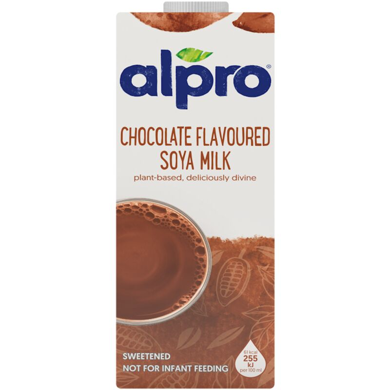 ALPRO SOYA DRINK CHOCOLATE FLAVOUR – 1L