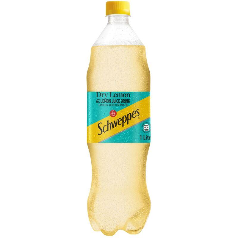 SCHWEPPES DRY LEMON SOFT DRINK – 1L