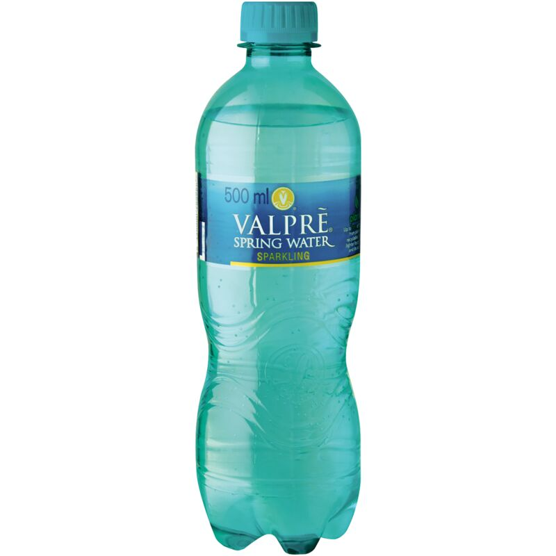 VALPRE SPARKLING SPRING WATER – 500ML