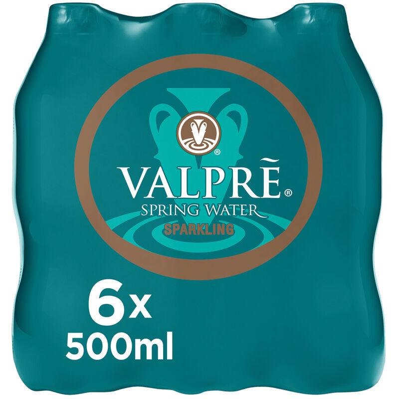 VALPRE SPARKLING SPRING WATER 6S – 500ML