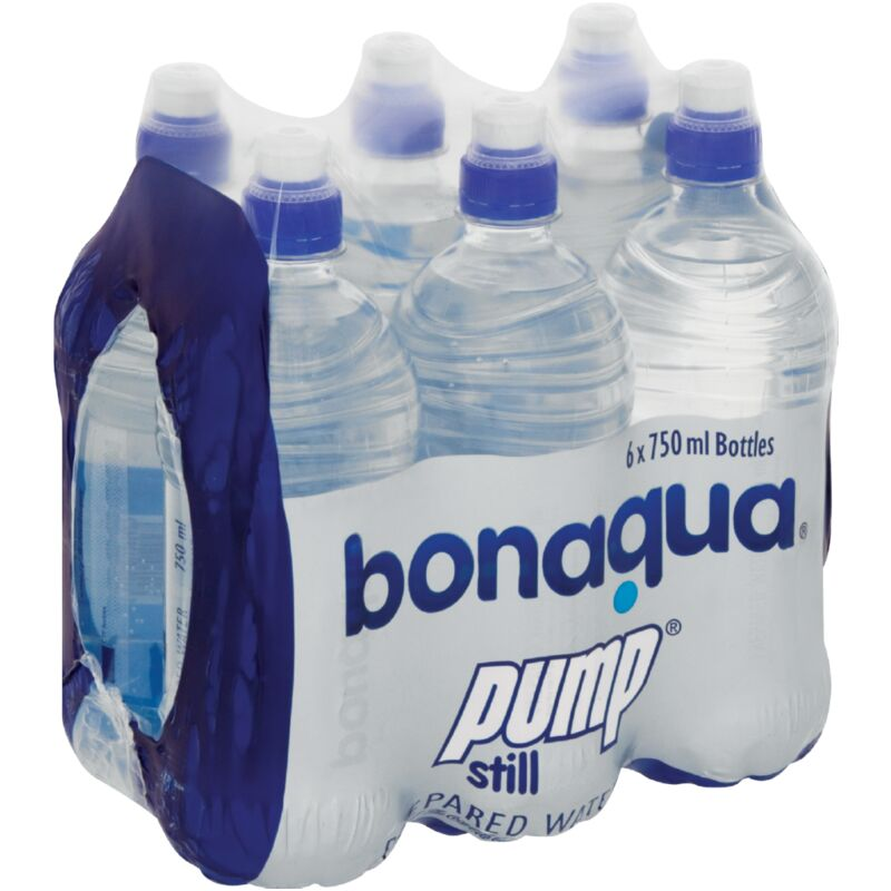 BONAQUA PUMP WATER STILL – 750ML