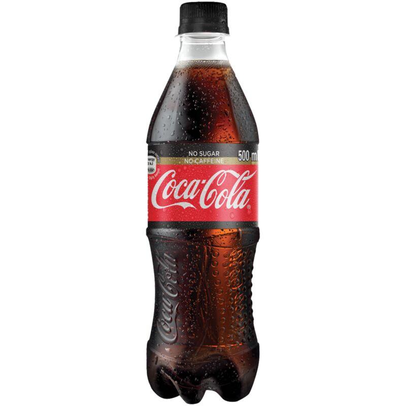 COCA COLA NO SUGAR NO CAFFEINE – 500ML