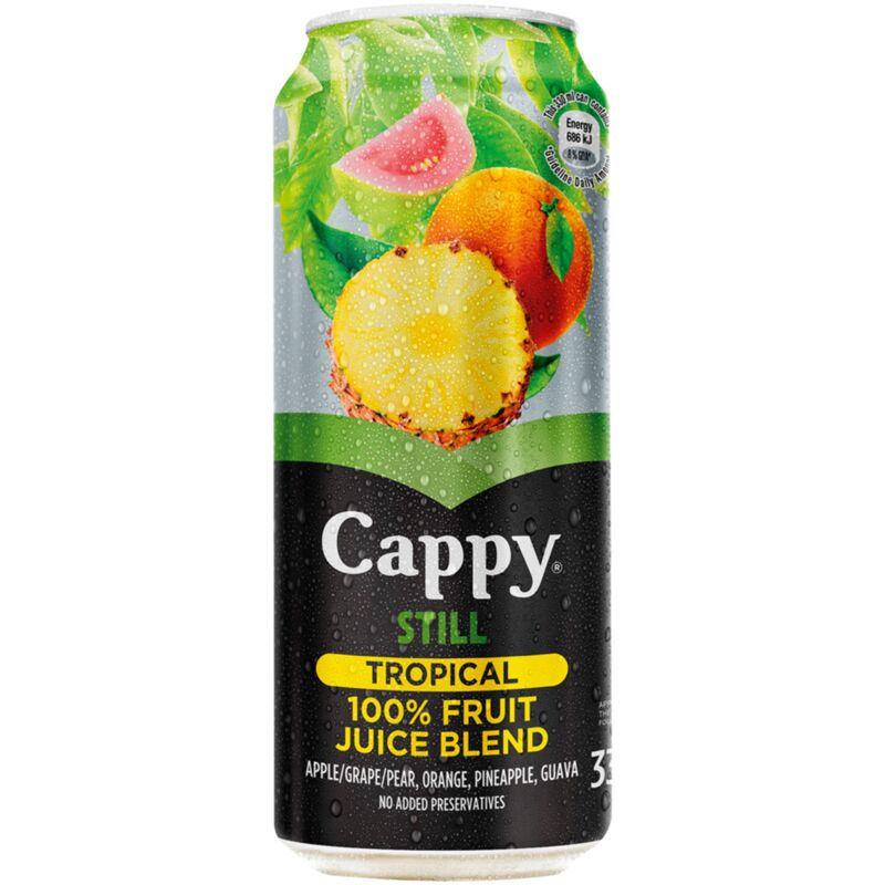 CAPPY FRUIT JUICE TROPICAL – 330ML