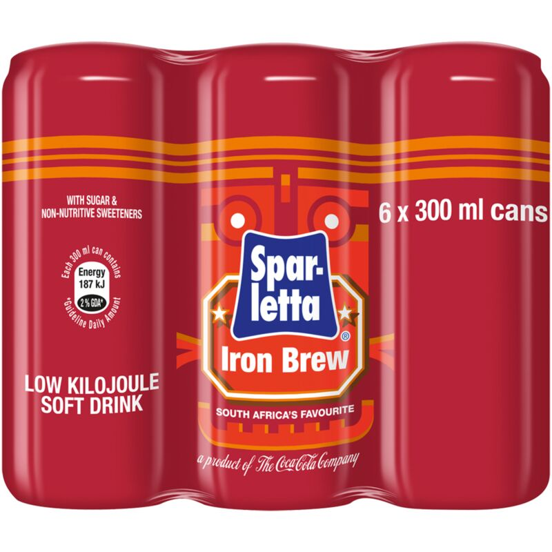 IRON BREW CAN 6S – 300ML