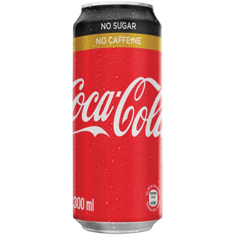 COCA COLA NO SUGAR NO CAFFEINE CAN – 300ML