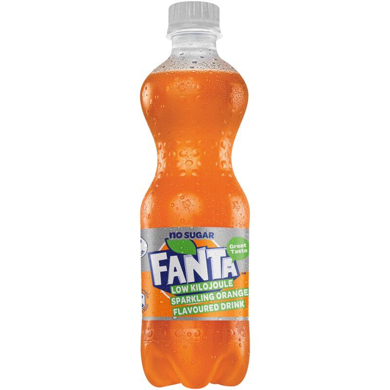 FANTA SOFT DRINK ORANGE ZERO – 500ML