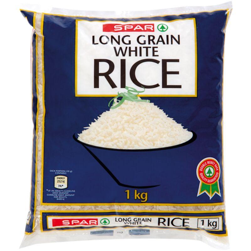 SPAR RICE WHITE – 1KG