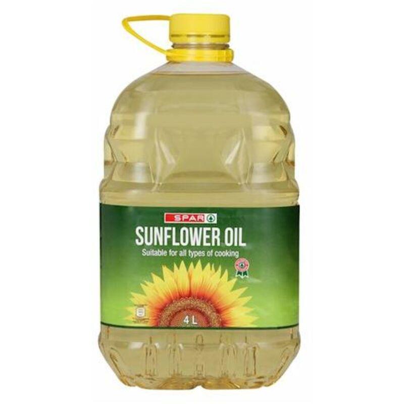 SPAR SUNFLOWER OIL – 4L