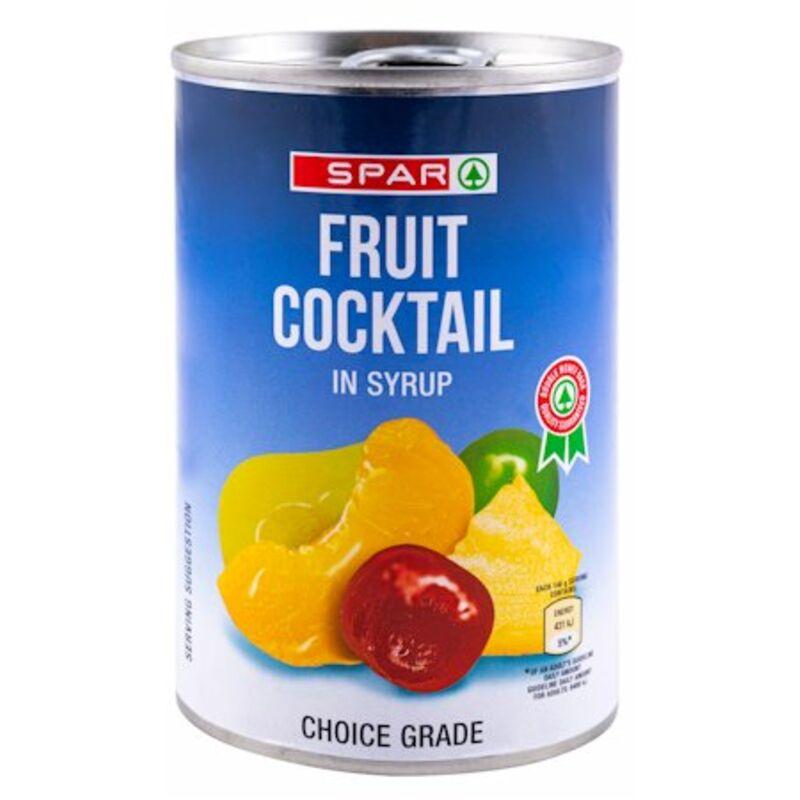 SPAR FRUIT COCKTAIL – 410G