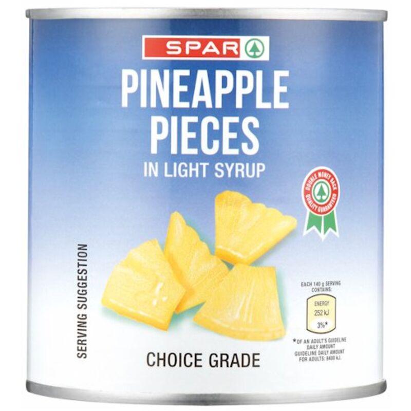 SPAR PINEAPPLE PIECES – 440G