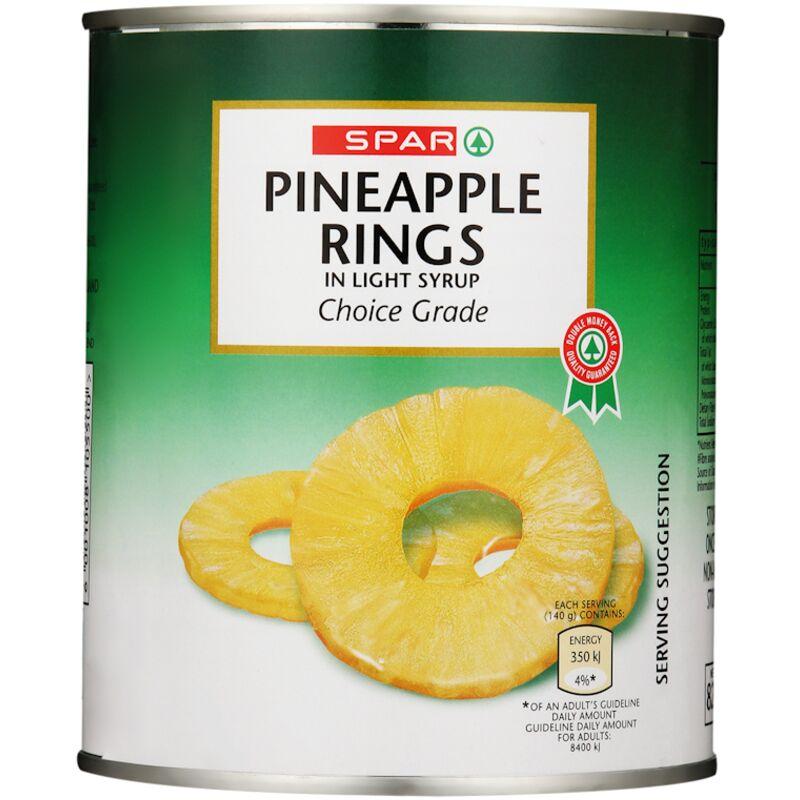 SPAR PINEAPPLE RINGS – 840G