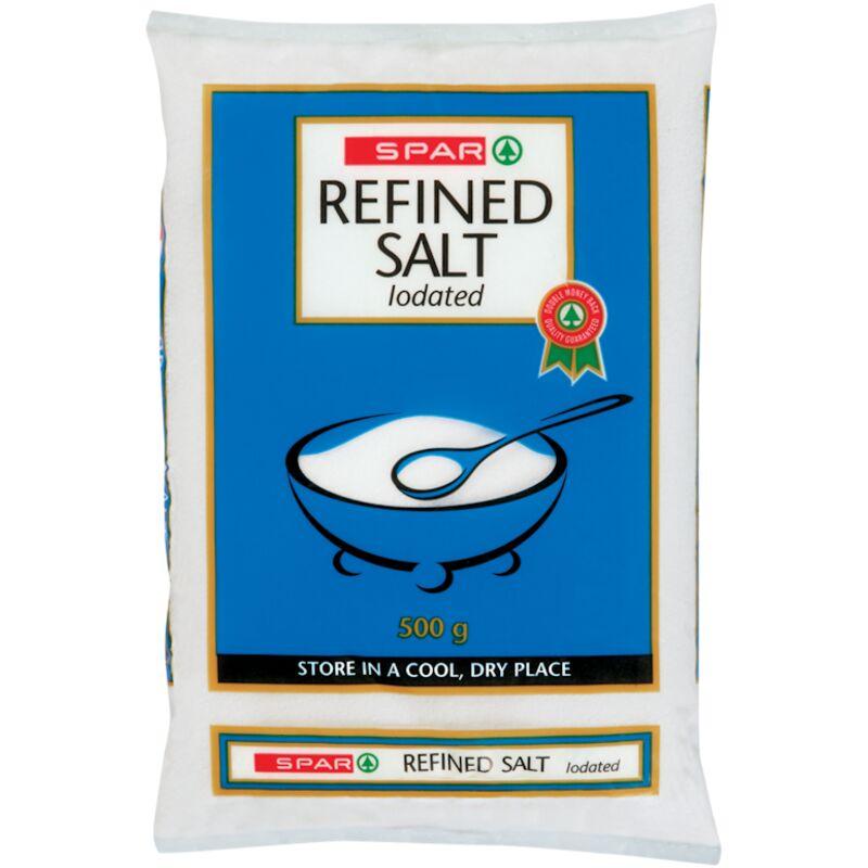 SPAR SALT FINE IODATED – 500G